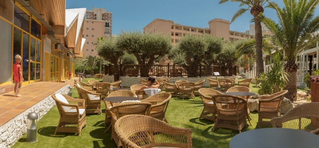 'los olivos' terrace magic tropical splash aparthotel benidorm