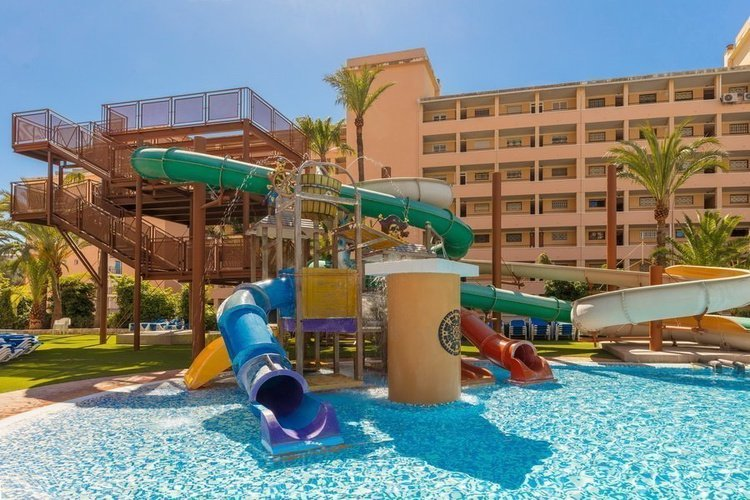 'Pirate's Land' Splash Park Magic Tropical Splash Aparthotel Benidorm