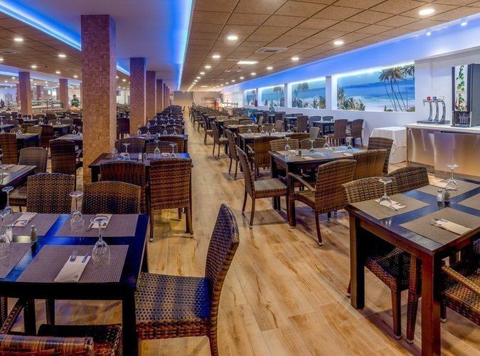 Restaurant 'caribe' magic tropical splash aparthotel benidorm