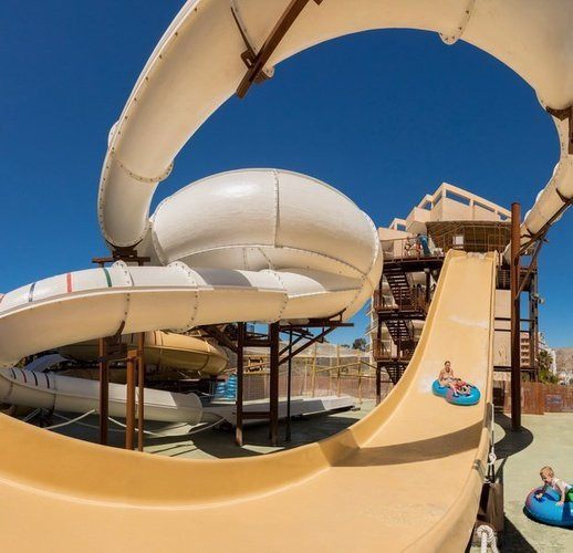 Pendulum and Family Boat in 'Pirate's Adventure' Magic Tropical Splash Aparthotel Benidorm