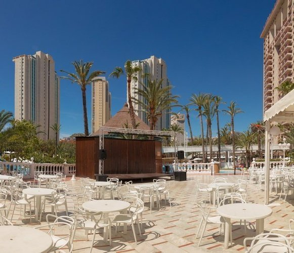 'Barbados' Bar Magic Tropical Splash Aparthotel Benidorm