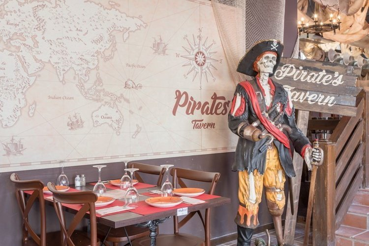 Restaurant 'Pirate's Tavern' Magic Tropical Splash Aparthotel Benidorm
