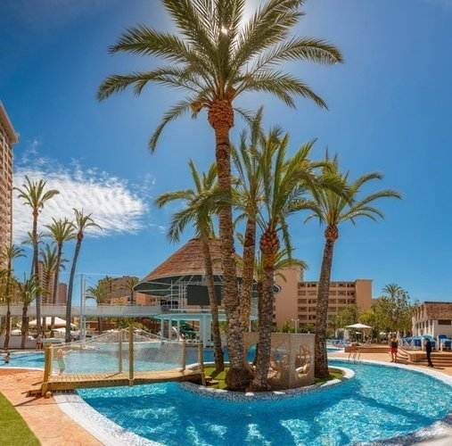 Swimming Pool-Lake Magic Tropical Splash Aparthotel Benidorm