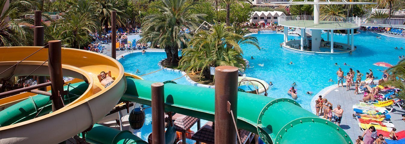 Toboganes Magic Aqua Experience™ Magic Aqua™ Monika Holidays Aparthotel