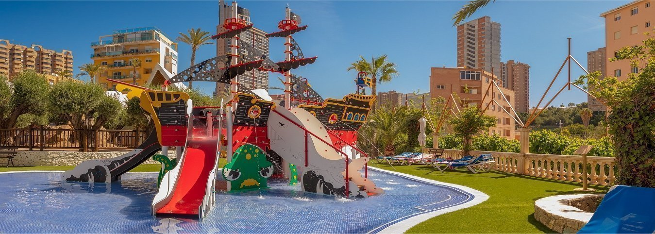 'Black Pearl' Magic Tropical Splash Water Park, Spa & Caribbean Resort Aparthotel